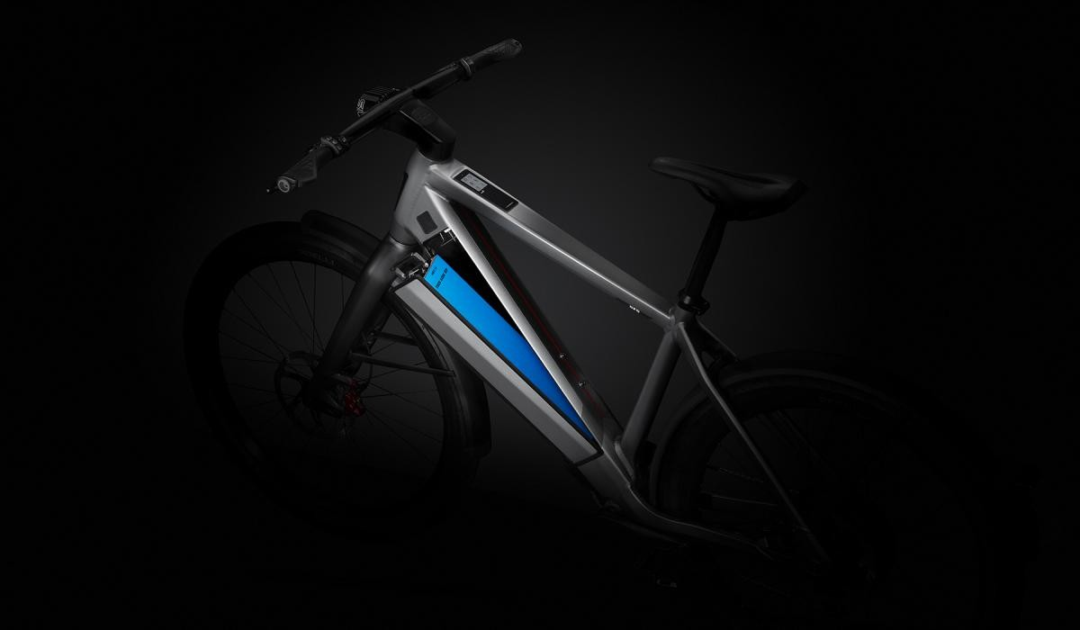 Stromer ST5 Limited Edition battery with 180 km (110 miles) range.