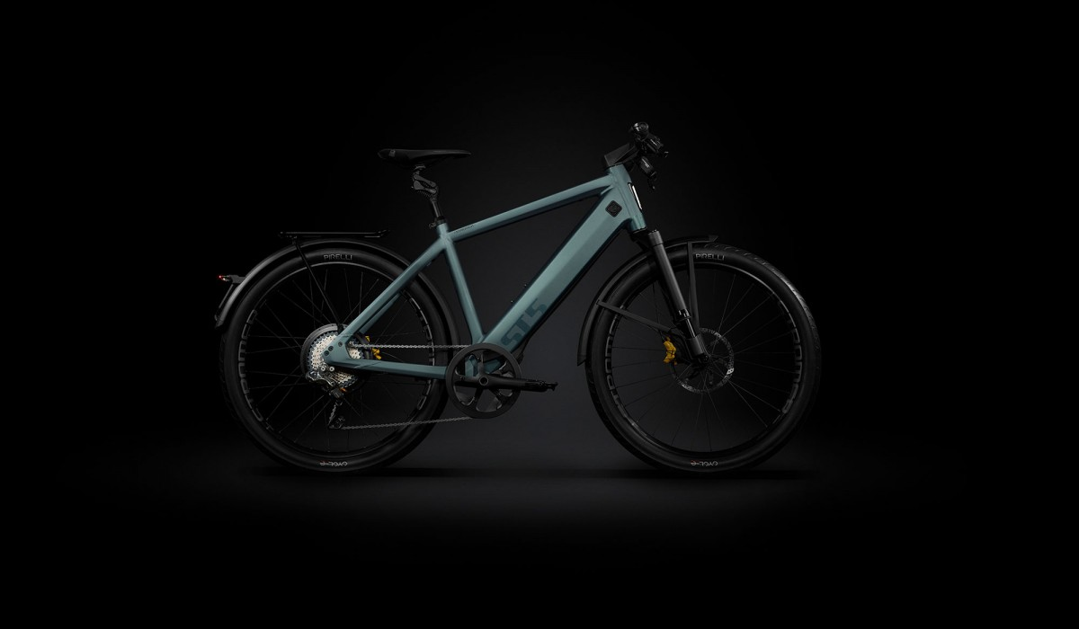 Front view of the Stromer ST5 Limited Edition Speed Pedelec.