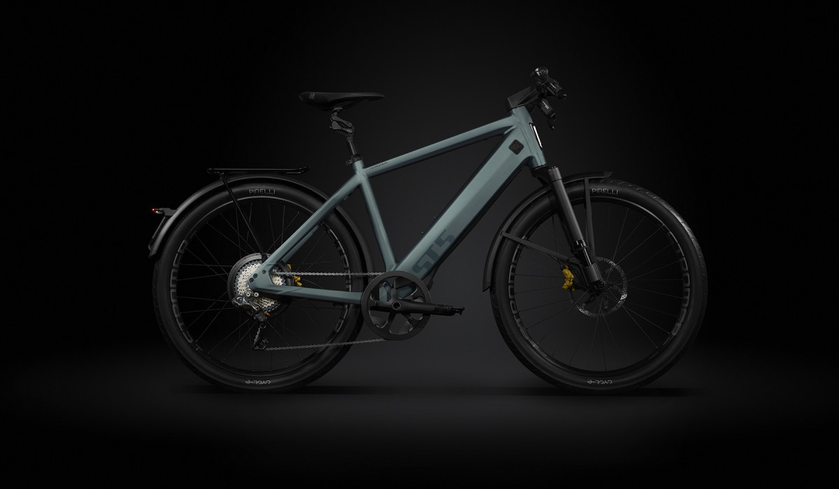 The Stromer ST5 Limited Edition with powerful engine and sports mode.